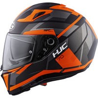 HJC I70 ELIM   MC6HSF GR.M   MATT SCHW./ORANGE