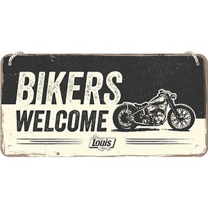 "Hanging signe ""Bikers Welcome"""