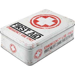 """First Aid"" Storage-Box"