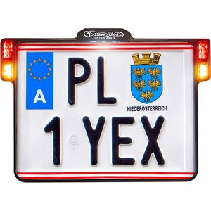 Singapore License Plate All Mirror Plate /& Chrome and Regular Vinyl Choices