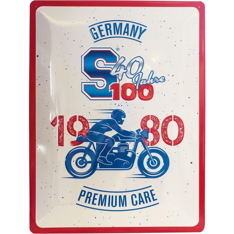 BLECHSCHILD 40 JAHRE S100