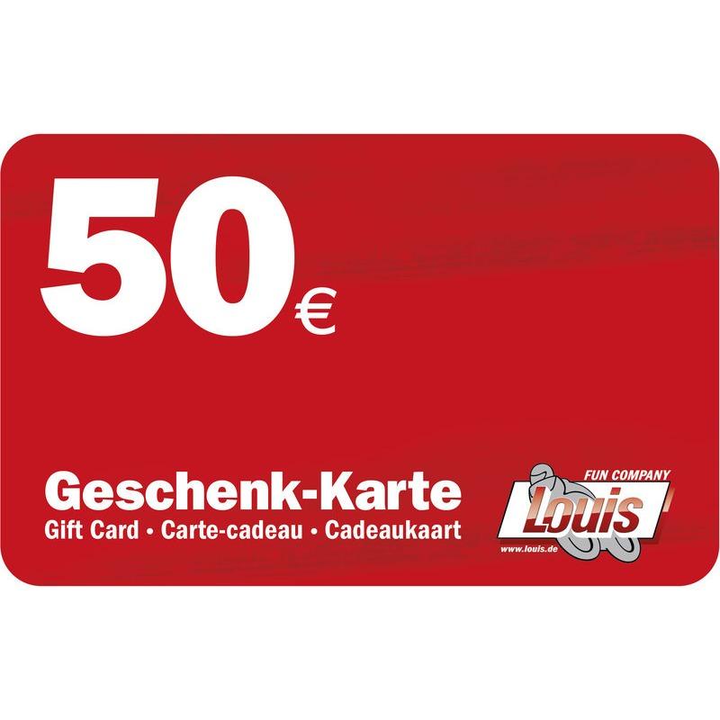 50,- EURO GESCHENK-KARTE