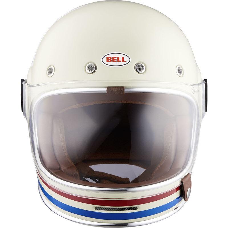 Bell HELMET BULLITT DLX STRIPES PEARL WHITE S