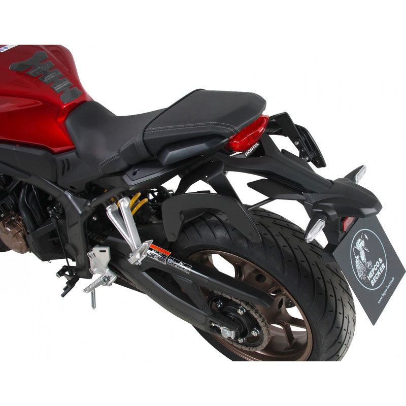 Hepco/&Becker C-Bow Seitentr/äger schwarz f/ür Kawasaki Z125 2018-