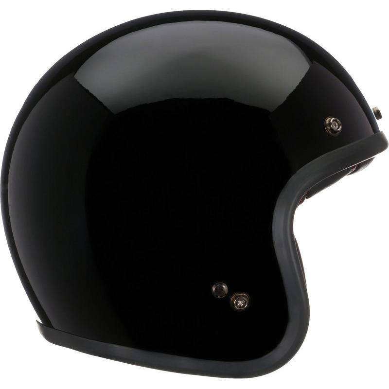 HELMET BELL CUSTOM 500 SOLID BLACK XL