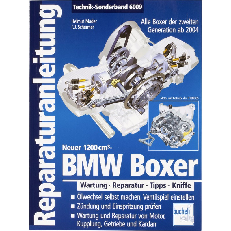 REPARATURANL. BMW-BOXER