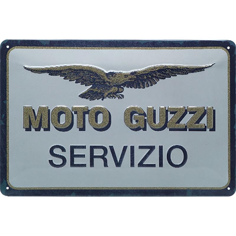 BLECHSCHILD *MOTO GUZZI