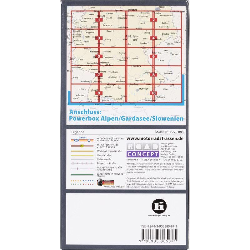 KARTEN MITTELGEBIRGE BOX1