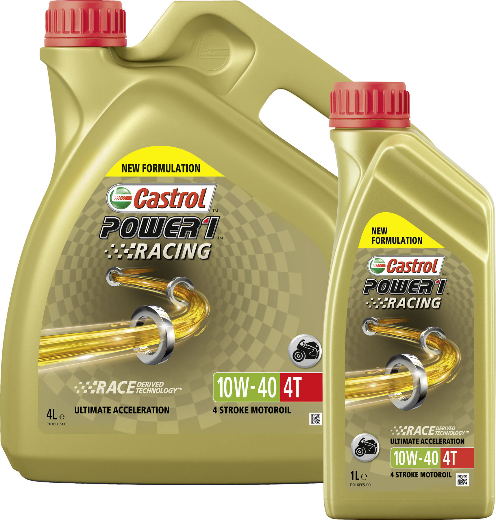 Buy Castrol Power1 Racing 10W-40 HC-Synthetic, 4T Engine