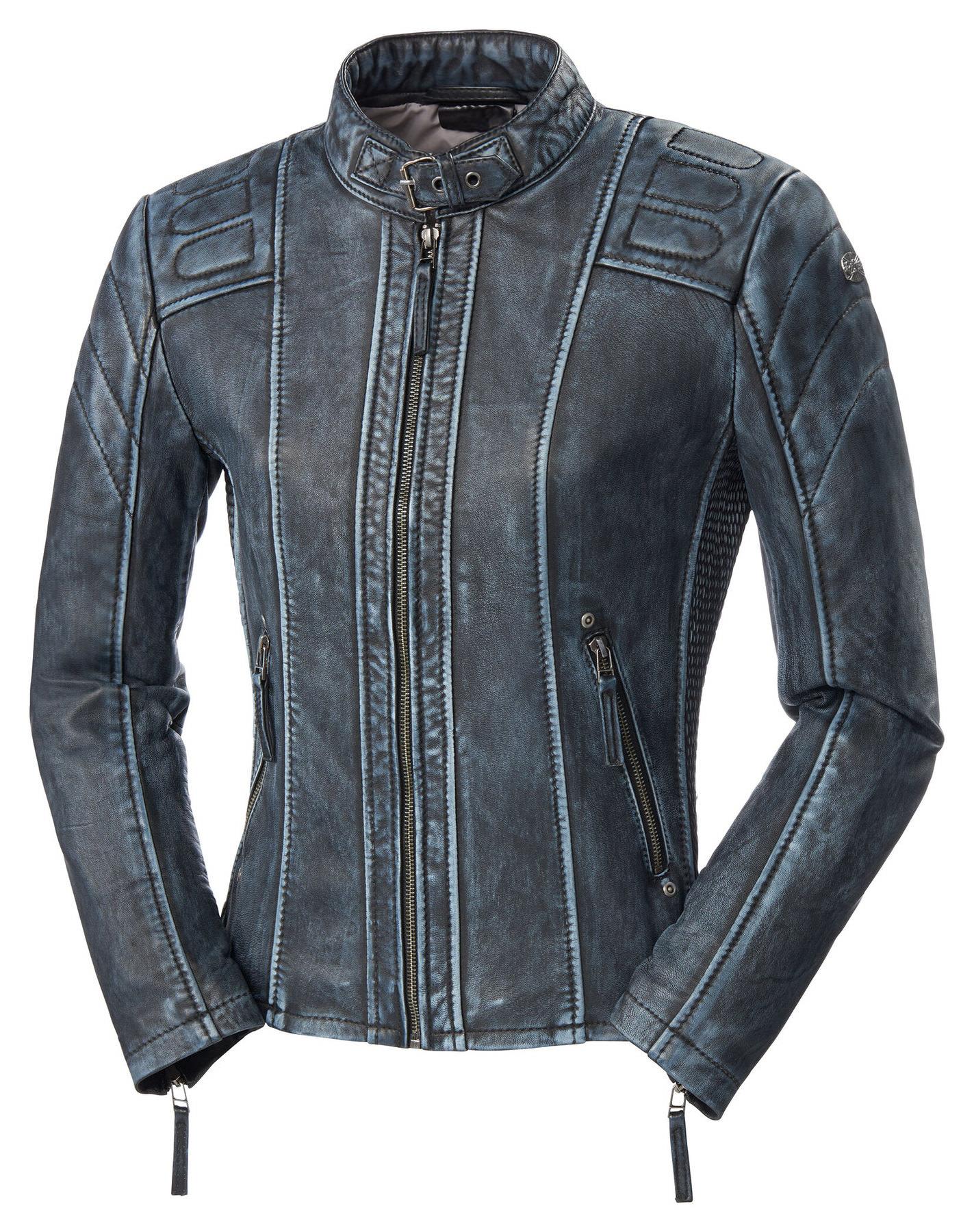 Buy Cafe Racer Fashion Iv Lady Leath Jacket Louis Motorcycle Clothing And Technology