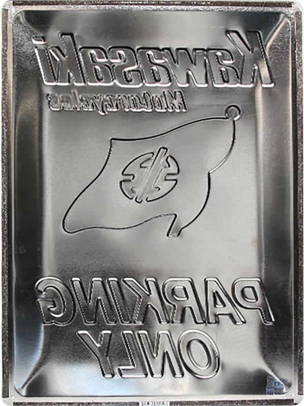 METAL TIN-SIGN KAWASAKI