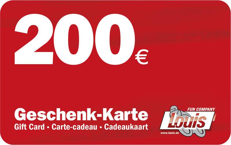 200,- EURO GESCHENK-KARTE