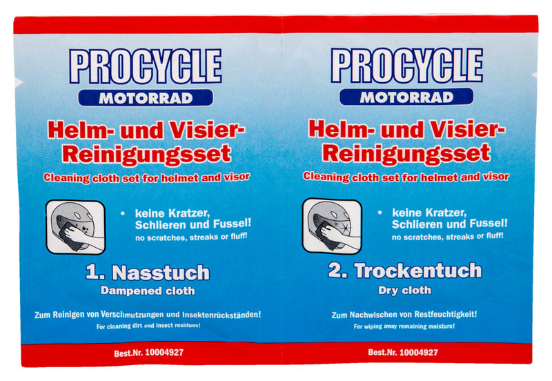 PROCYCLE HELM- EN VIZIER-