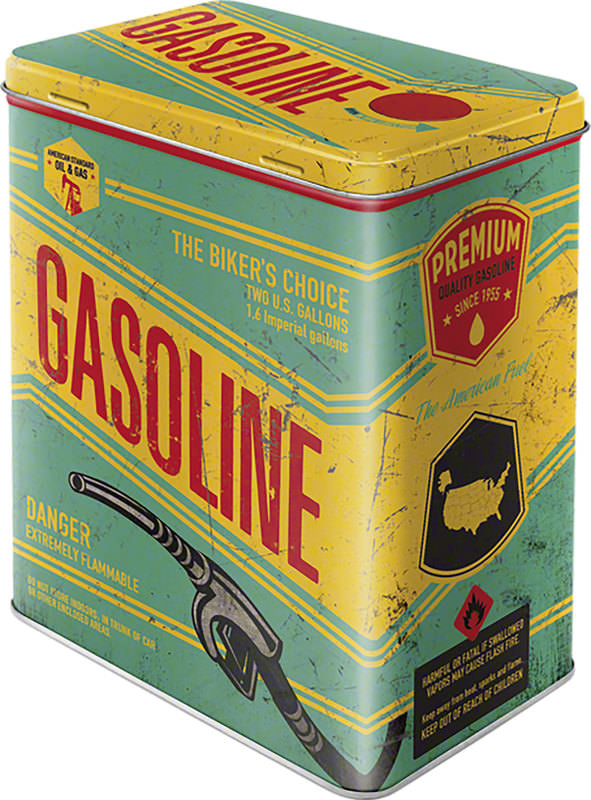 GASOLINE STORAGE-BOX