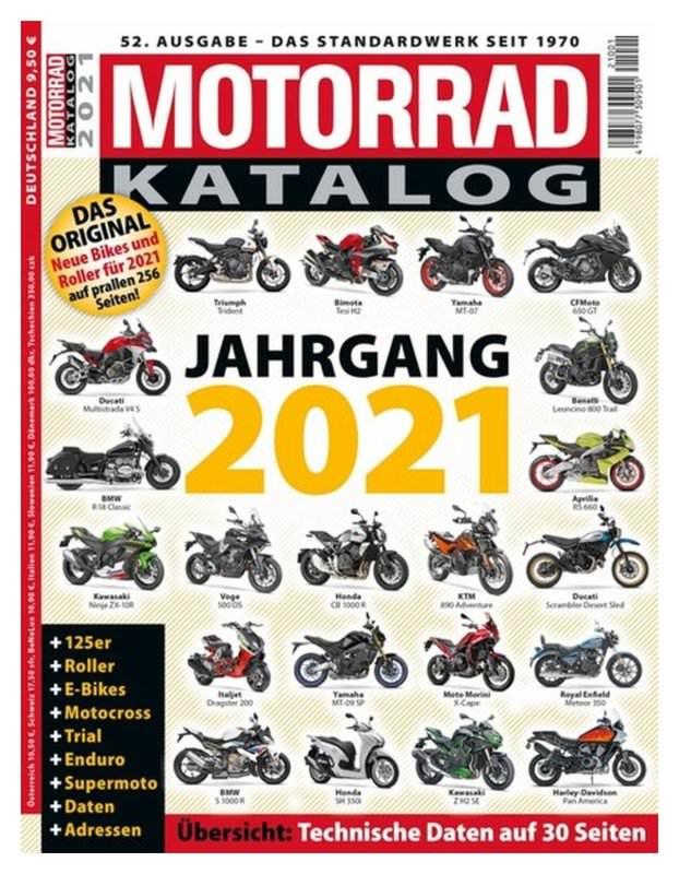 MOTORRAD - KATALOG 2021