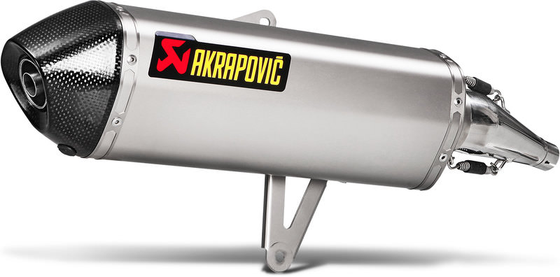 AKRAPOVIC SCOOTER LINE