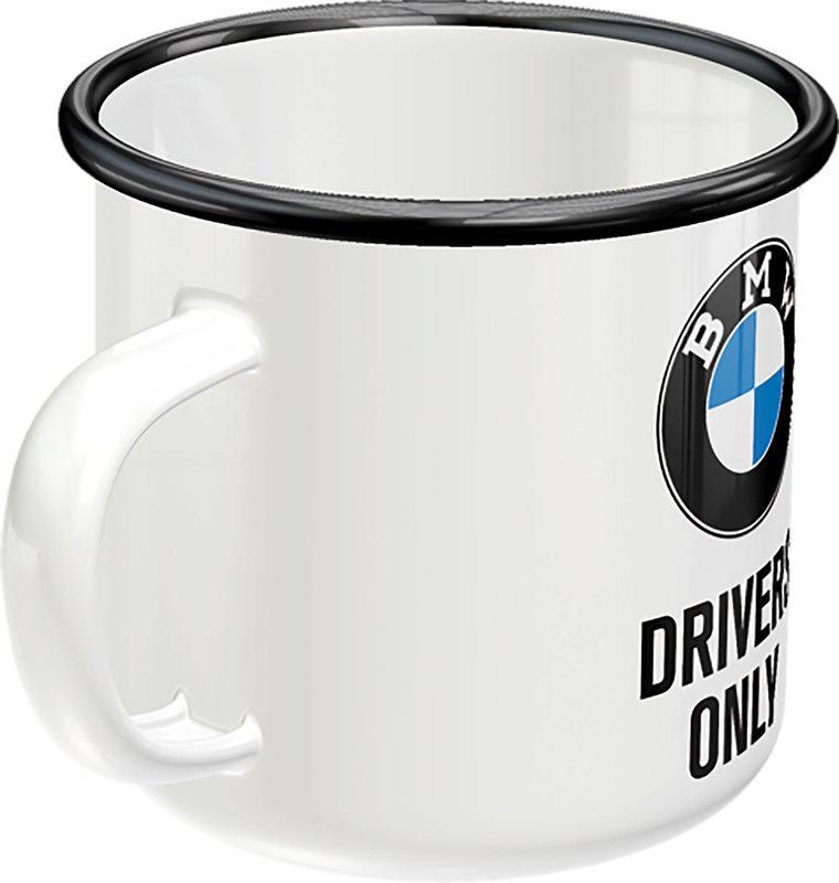 ENAMEL MUG BMW DRIVERS