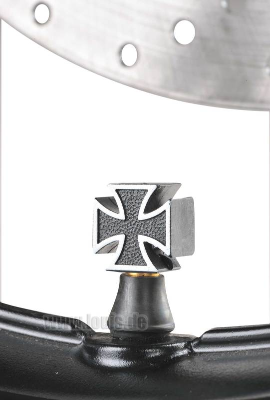 VALVE CAPS IRON CROSS