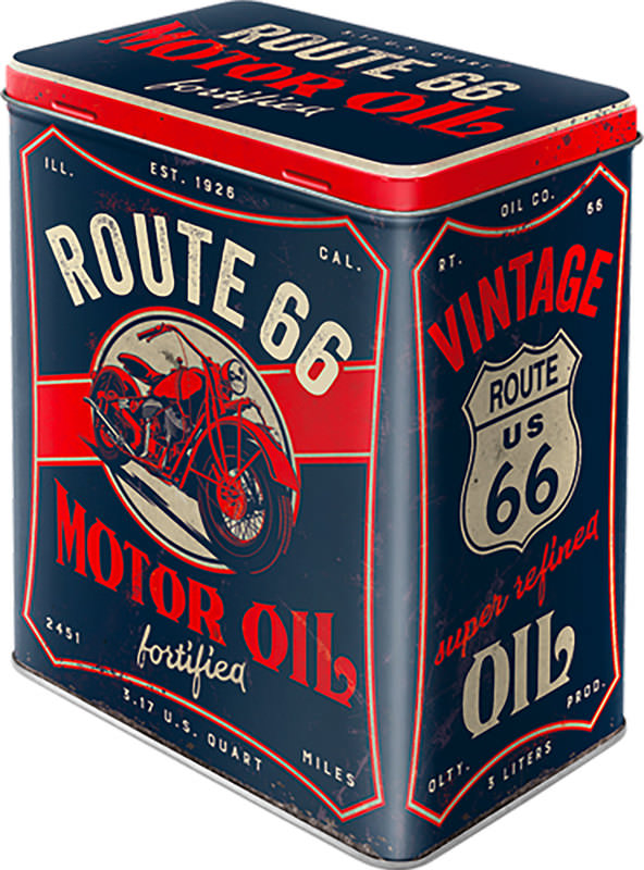 VORRATSDOSE *ROUTE 66*