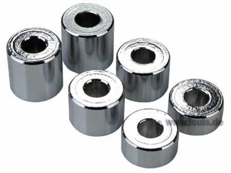 ALU CHROME SPACER SLEEVES
