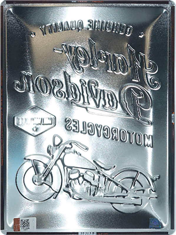 METAL TIN-SIGN H-D