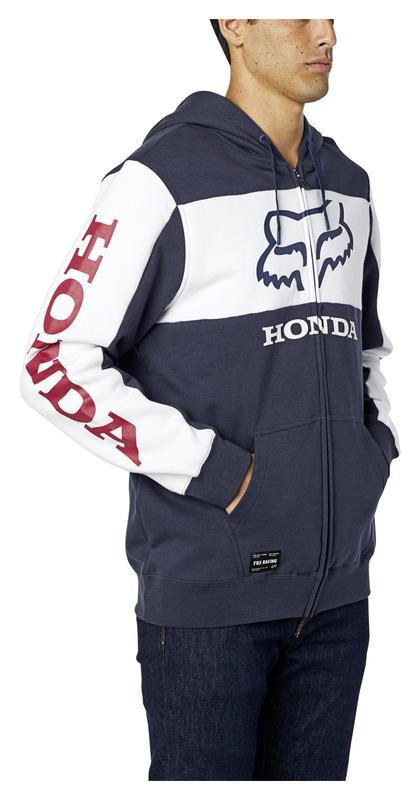 FOX HONDA ZIP-HOODIE