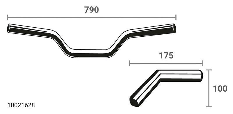LSL X-BAR HANDLEBAR, X02