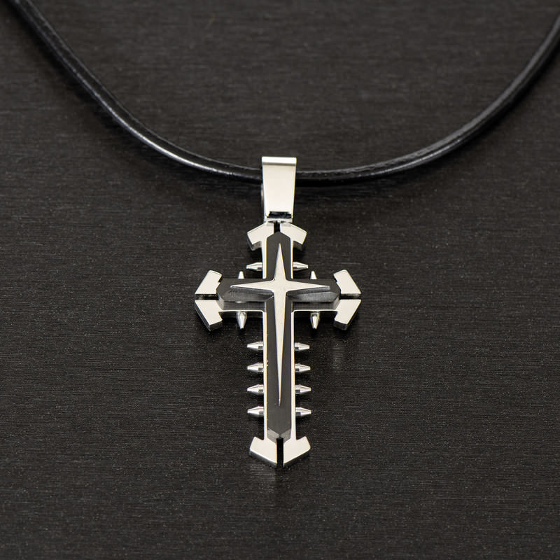 'CROSS'  NECKLACE