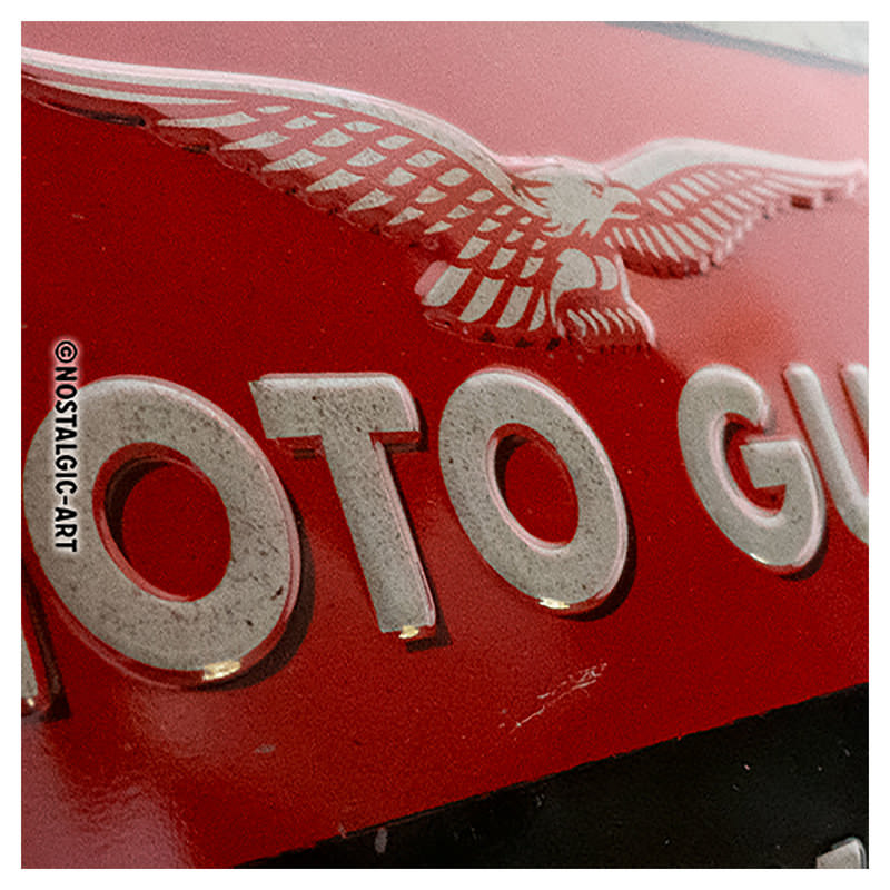 METAL SIGN *MOTO-GUZZI*