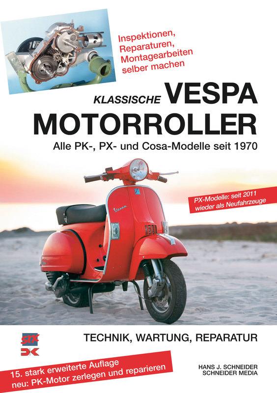 VESPA MOTORROLLER BUCH