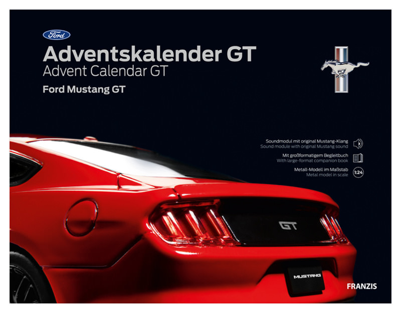 FRANZIS FORD MUSTANG GT
