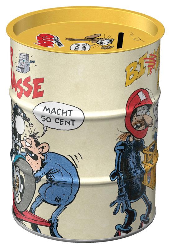 MOTOMANIA OIL MONEY BOX