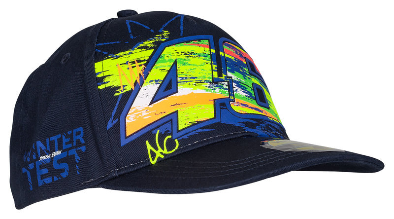 VR46 WINTER TEST CAP