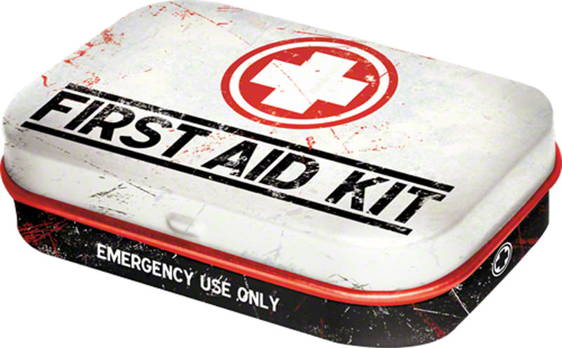 PILULIER *FIRST AID KIT*,