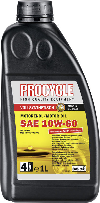 PROCYCLE MOTORENÖL  4T.