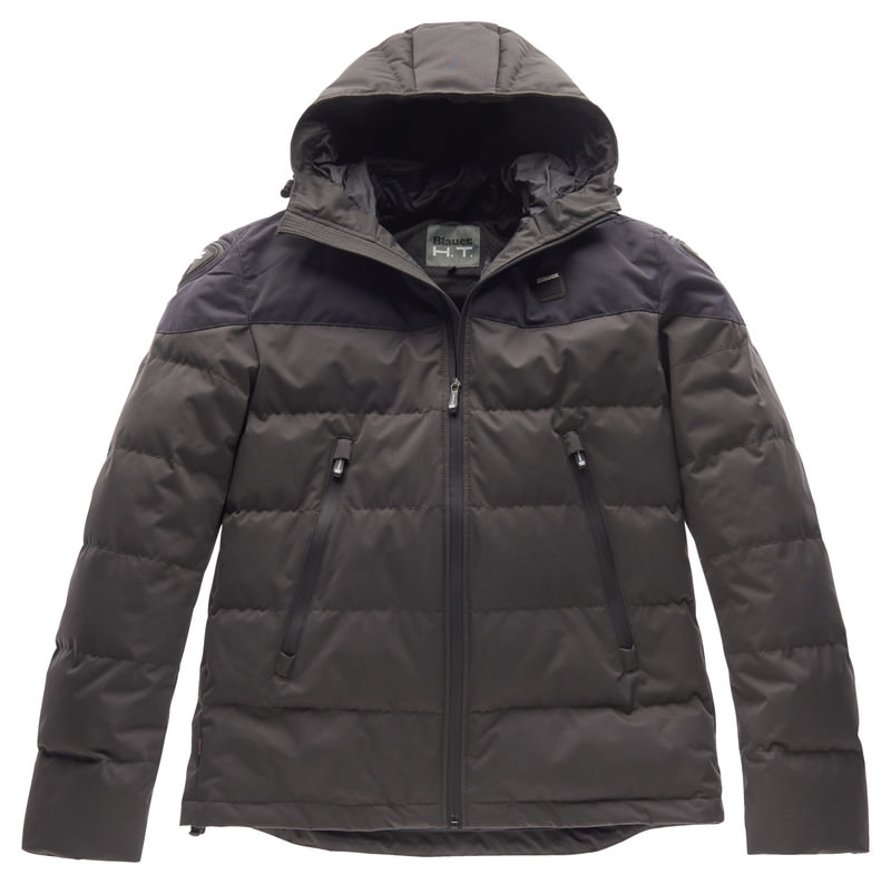 Blauer Easy Winter Jacke