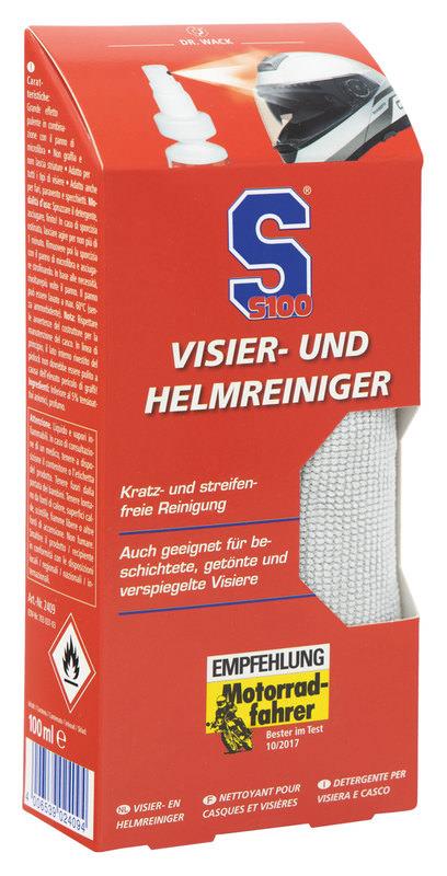 S100 VISIER- UND HELM-