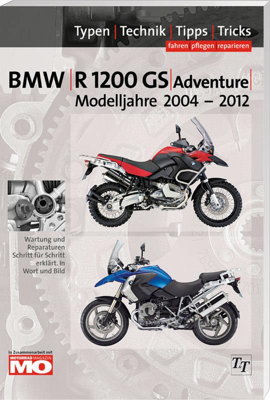 BMW HANDBUCH R 1200 GS