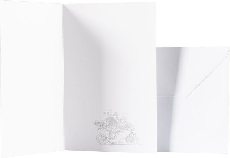MOTOMANIA GREETINGS CARD