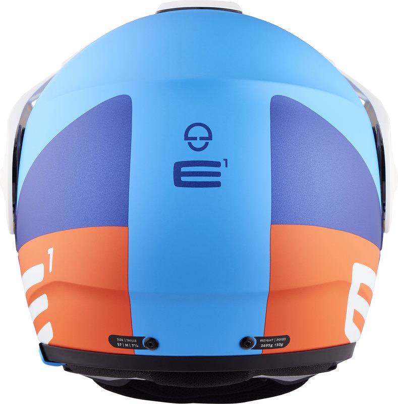 SCHUBERTH E1 CUT BLUE