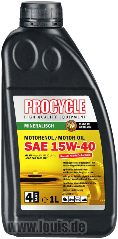 MOTORENOEL PROCYCLE 4-T.