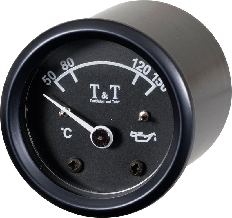 T&T OIL TEMP. GAUGE
