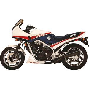 1984 hinte Bremsbeläge Honda VF 1000 F Interceptor  Bj